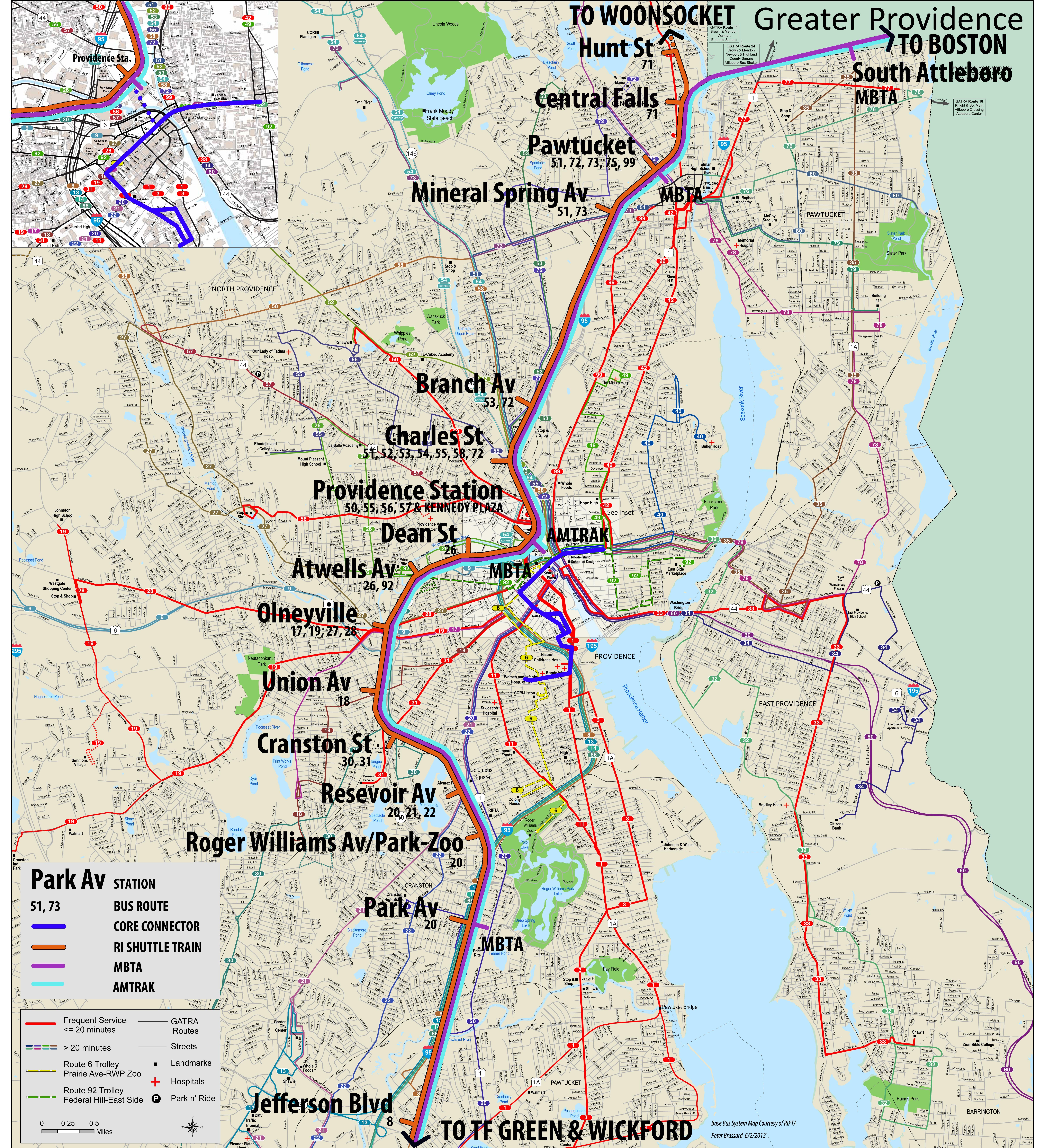 Providence Ri Map Neighborhoods