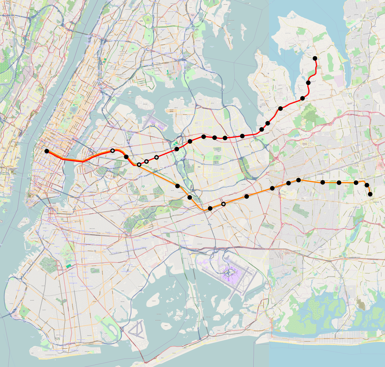 Rapid Transit on the LIRR | Pedestrian Observations