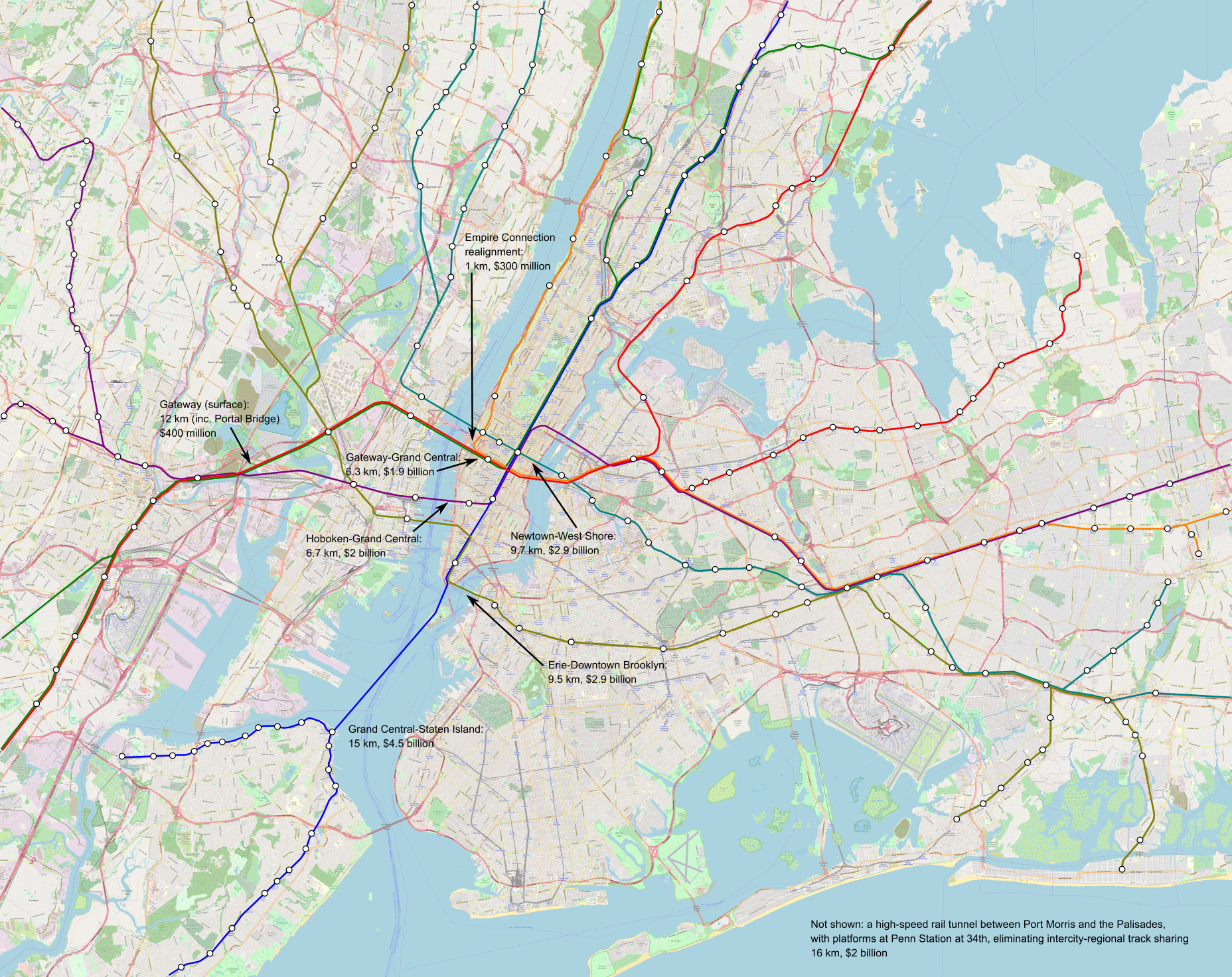 Ideal Nyc Subway Map Efficient.Assume Nordic Costs Pedestrian Observations